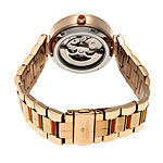 Empress Unisex Adult Rose Goldtone Stainless Steel Bracelet Watch-Empem1904