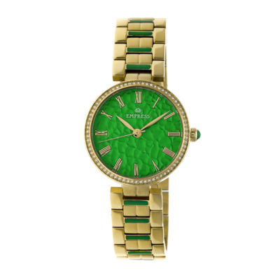 Empress Unisex Gold Tone Bracelet Watch-Empem1903
