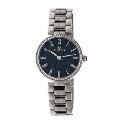 Empress Unisex Silver Tone Bracelet Watch-Empem1902