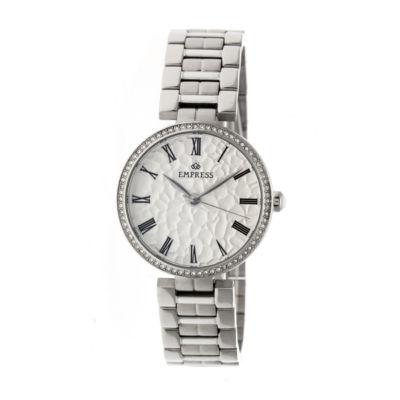 Empress Unisex Silver Tone Bracelet Watch-Empem1901