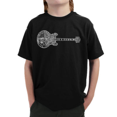 Los Angeles Pop Art Boy's Word Art T-shirt - BluesLegends