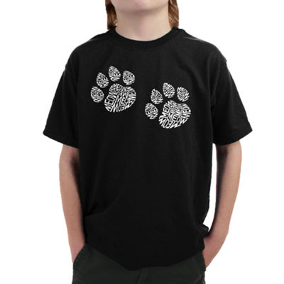 Los Angeles Pop Art Boy's Word Art T-shirt - MeowCat Prints