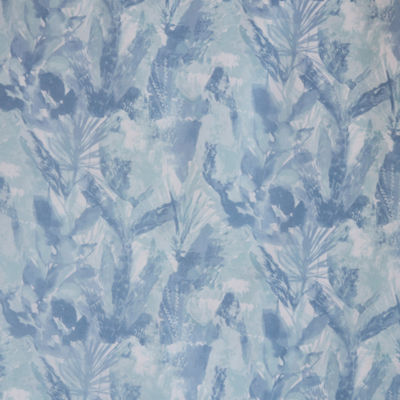 Madison Park Kora Sheer Printed With Lined Shower Curtain