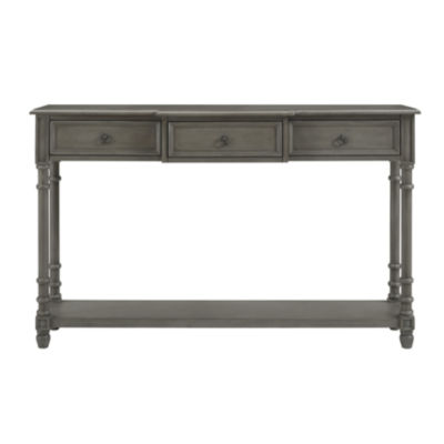 3-Drawer Entryway Console