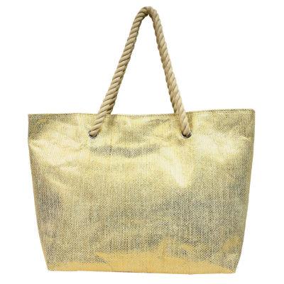 Large Straw Tote Bag