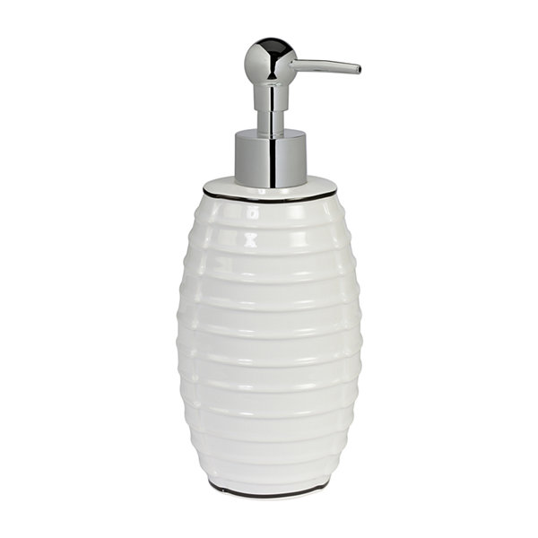 Creative Bath Metro Circles Soap/Lotion Dispenser