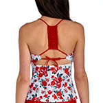 Arizona Floral Tankini Swimsuit Top or Swimsuit Bottom-Juniors