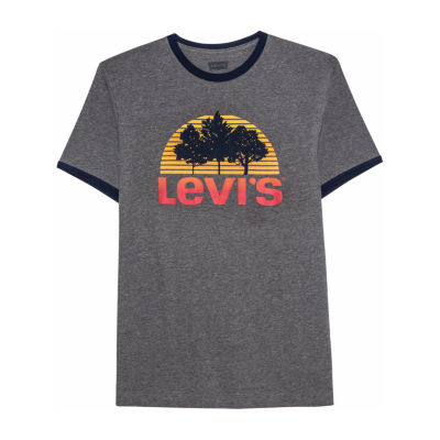 Levi's Mens Crew Neck Short Sleeve T-Shirt