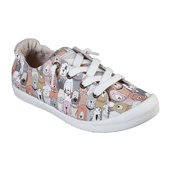 Skechers Bobs Womens Dog House Party Slip-On Shoe Closed Toe