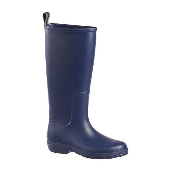Totes Womens Cirrus Claire Tall Rain Boots Waterproof Pull On