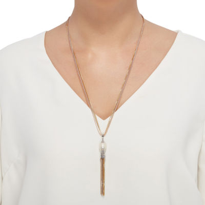 LIMITED QUANTITIES! Honora Legacy Womens White Cultured Freshwater Pearl Pendant Necklace