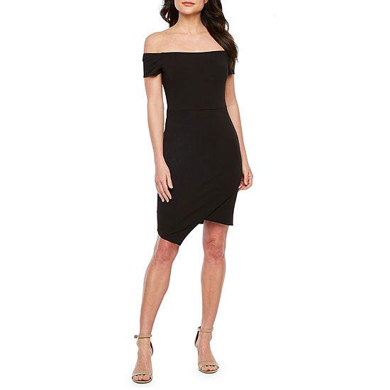 Premier Amour Off The Shoulder Sheath Dress