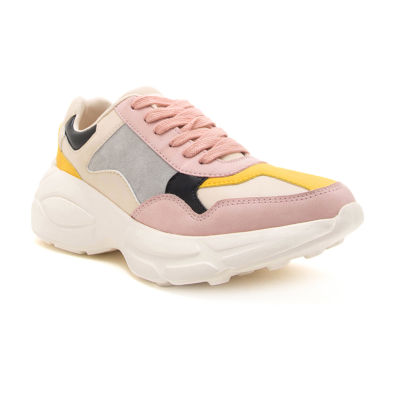 Qupid Piers 02 Womens Sneakers Lace-up