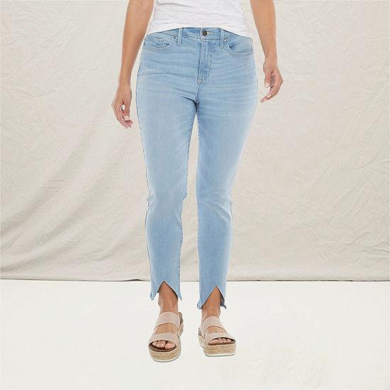 a.n.a Womens High Rise Skinny Ankle Jean