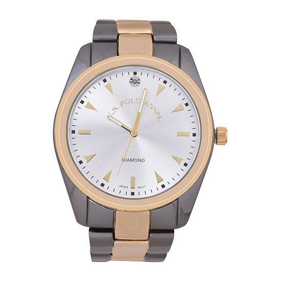 Us Polo Assn. Mens Bracelet Watch-Usc80633jc
