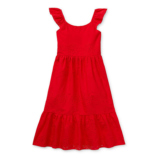 Lilt Little & Big Girls Sleeveless Maxi Dress