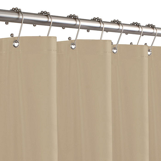 "Maytex 8-Gauge 70""x71"" Peva Shower Curtain Liner"