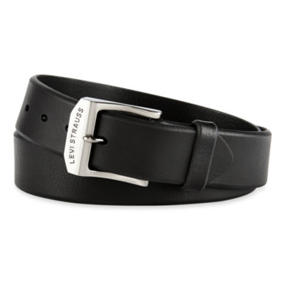 Levi's® Genuine Black Leather Men's Belt