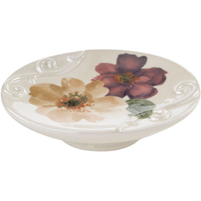 Queen Street® Carlyon Floral Soap Dish