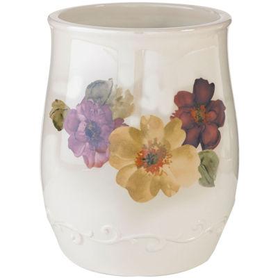 Queen Street® Carlyon Floral Wastebasket