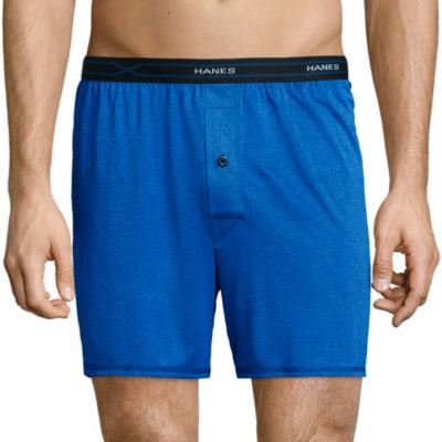 Hanes® 3-pk. X-Temp® Performance Cool Knit Boxers