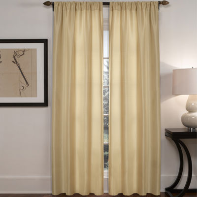 Diamond Waffle 2-Pack Rod-Pocket Curtain Panels