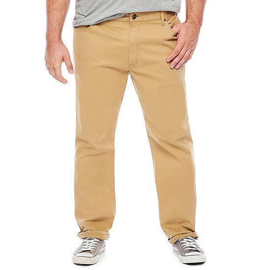 U.S. Polo Assn.-Big and Tall Mens Regular Fit Flat Front Pant