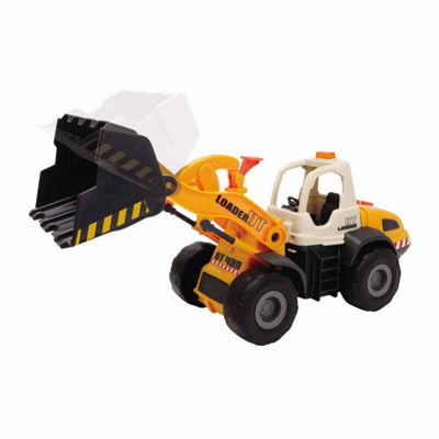 Dump Truck with Friction Mechanism