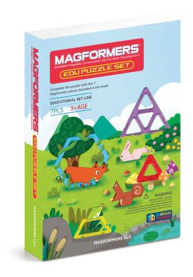 Magformers Edu Puzzle Set