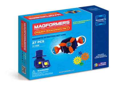 Magformers Magnets in Motion Power Accessory 27 PC. Set
