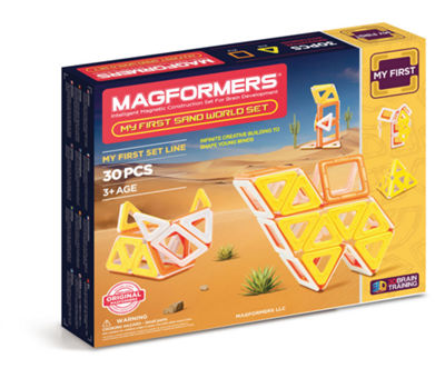 Magformers My First Sand World 30 PC. Set