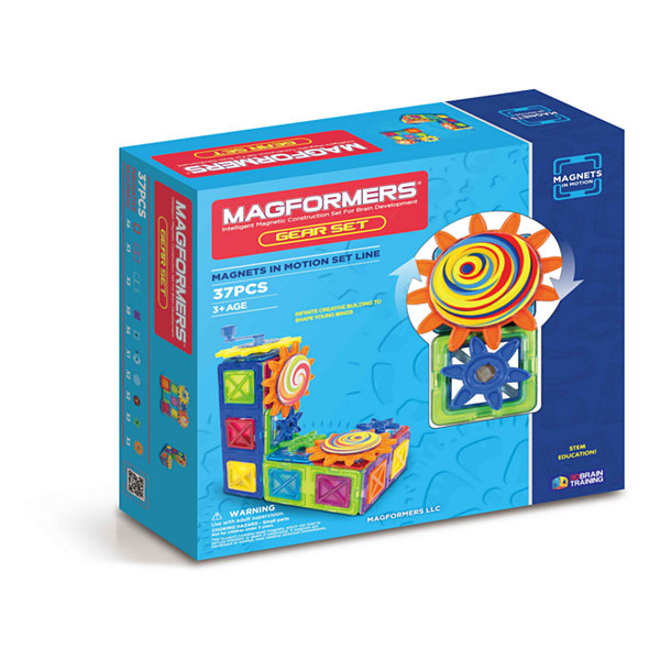 Magformers Magnets in Motion 37 PC. Gear Set