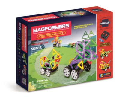 Magformers Zoo Racing Set 55 PC. Set
