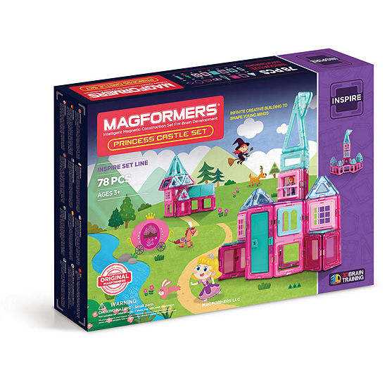 Magformers Princess Castle 78 PC. Set