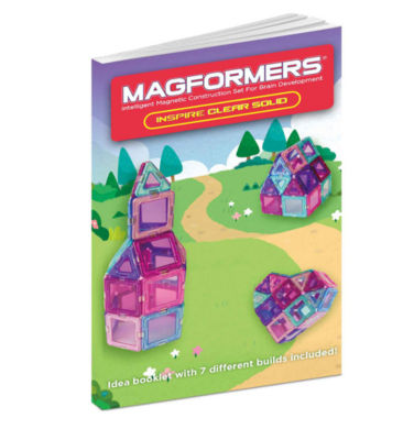 Magformers Solids Clear Inspire 30 PC. Set
