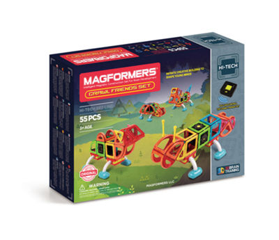 Magformers Crawl Friends 56 PC. Set