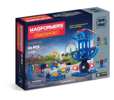 Magformers Power Gear Set 60 PC. Set