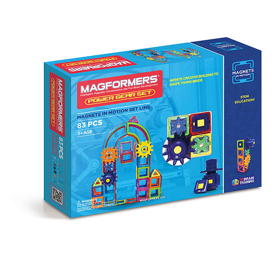Magformers Magnets in Motion 83 PC. Power Set
