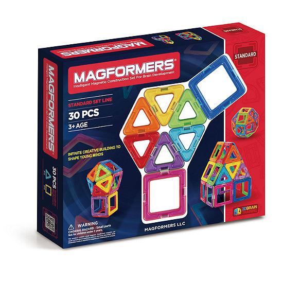 Magformers Rainbow 30 Pc Set