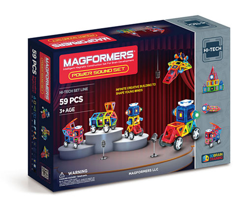 Magformers Power Sound 59 PC. Set