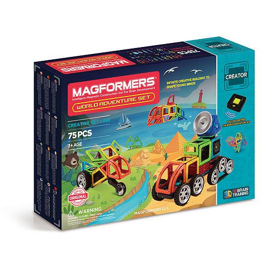 Magformers Adventure World 76 PC. Set