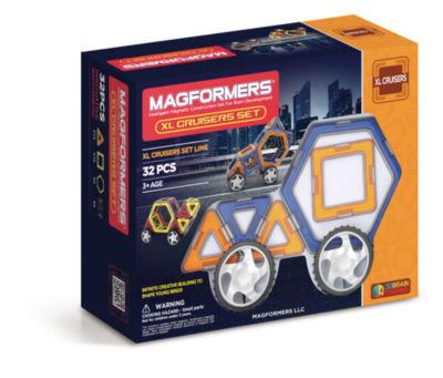Magformers XL Cruisers 32 PC. Car Set