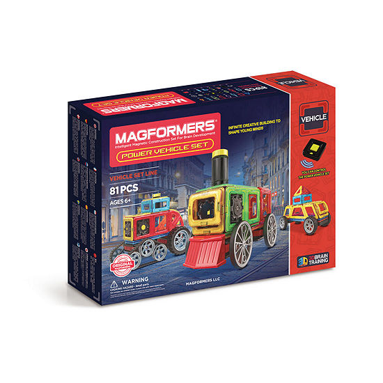 Magformers Power Vehicle 86 PC. Set