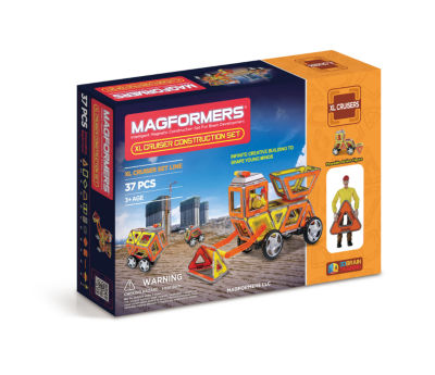 Magformers XL Cruisers Construction Set 37 PC. Set
