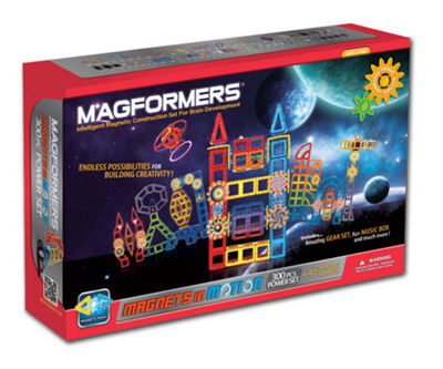 Magformers Magnets in Motion Power 300 PC. Set