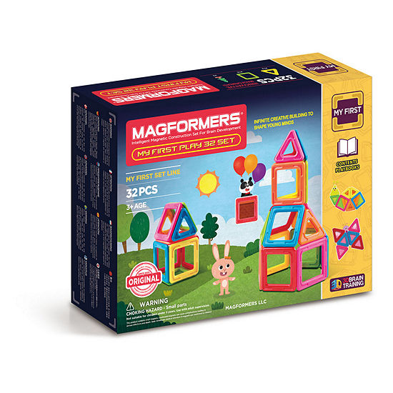 Magformers My First Play 32 Pc Set