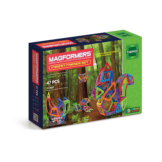 Magformers Forest Friends 47 Pc Set