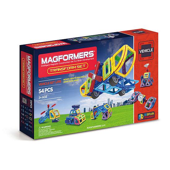 Magformers Transform 54 Pc Set