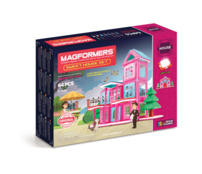 Magformers Sweet House 64 PC. Set