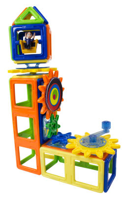 Magformers Magnets in Motion 61 PC. OPAQUE Gear Set